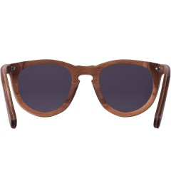 Shwood Walnut Grey Belmont Sunglasses Model Picutre
