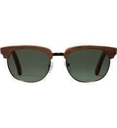 Shwood Walnut Silver G15 Polarized Eugene Sunglasses Picutre