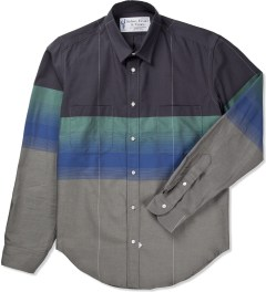 Sidian, Ersatz & Vanes Grey/Green/Blue COM03 Classic Pocket Shirt Picutre