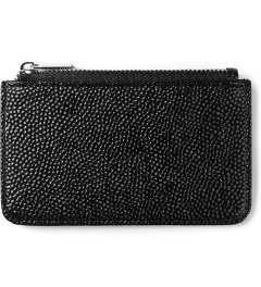 Stevin Gold Black Stingray Cardholder Picutre