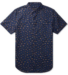 ZANEROBE Navy Big Cat S/S Shirt Picutre