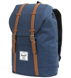 Herschel Supply Co. Navy Retreat Backpack Model Picutre