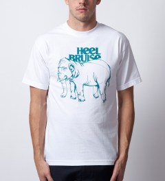 Heel Bruise White Elephant T-Shirt Model Picutre