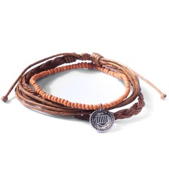 Icon Brand Plated Thin Brown For The Money Bracelet  Picutre