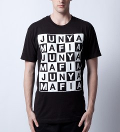 Junya Mafia Black Louis T-Shirt Model Picutre