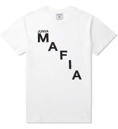 Junya Mafia White Cease T-Shirt Picutre