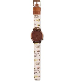 KOMONO Ichtyology Wizard Print Series Watch  Model Picutre