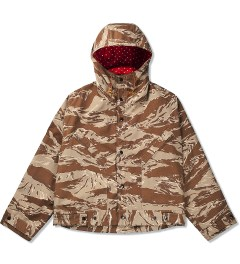 Mark McNairy Tiger Camo Hooded Windbreaker Picutre