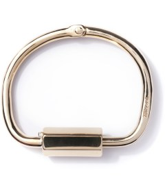 Miansai Polished Naomi Brass w/ Brass Bracelet Model Picutre