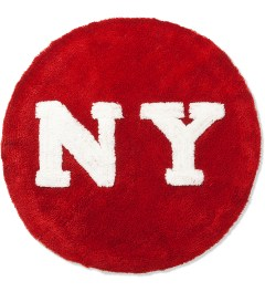 SECOND LAB Red NY Circle Rug  Picutre