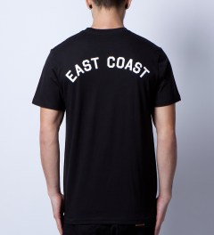 Stampd Black East Coast T-Shirt Model Picutre