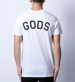 Stampd White Gods T-Shirt Model Picutre