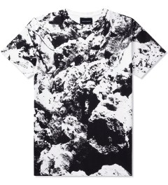 Tourne de Transmission White Substance Allover T-Shirt Picutre