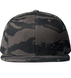 Undefeated Black Combat Fleece Snapback Ballcap  Picutre