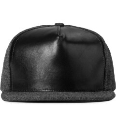 HSTRY x Grungy Gentleman Charcoal/Black Strapback Hat Picutre