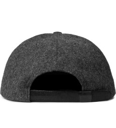 HSTRY x Grungy Gentleman Charcoal/Black Strapback Hat Model Picutre