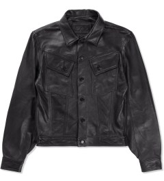 HSTRY x Grungy Gentleman Black HSTRY x Grungy Gentleman Denim Style Jacket  Picutre