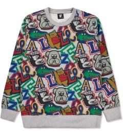 Lazy Oaf Mascot Logo Sweater  Picutre