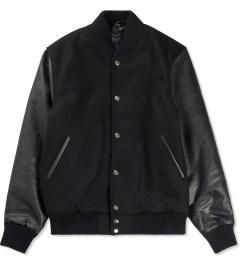 MKI BLACK Black/Black Classic Varsity Jacket Picutre
