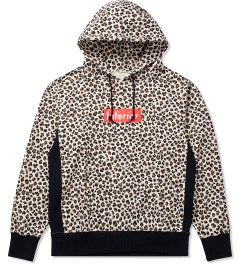 Mark McNairy for Heather Grey Wall Leopard Inferior Parka Hoodie Picutre