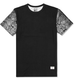 Mister Black/Silver Mr. Metallic Snake T-Shirt  Picutre