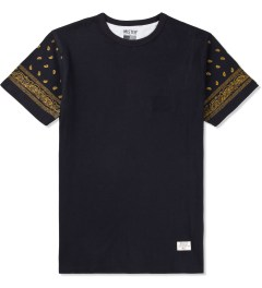 Mister Back/Gold Mr.Metallic Paisley T-Shirt Picutre