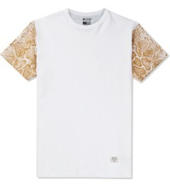 Mister White/Gold Mr. Metallic Snake T-Shirt  Picutre