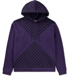 Opening Ceremony Purple Diamond Print Hoodie  Picutre