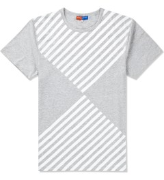 Opening Ceremony Heather Grey Diamond Print T-Shirt  Picutre