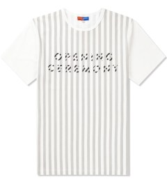 Opening Ceremony White Printed Logo T-Shirt Picutre