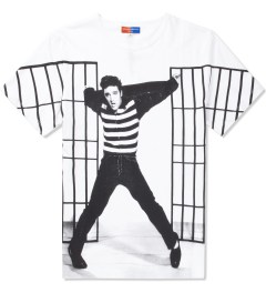 Opening Ceremony Opening Ceremony x Elvis White Jailhouse Rock T-Shirt  Picutre