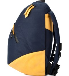 P.A.M. Navy Boulder Backpack  Model Picutre