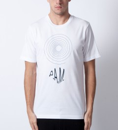 P.A.M. White Spiral Tribe T-Shirt Model Picutre