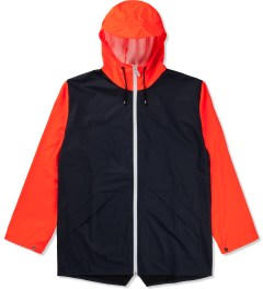 RAINS Blue Orange W Jacket Ltd  Picutre