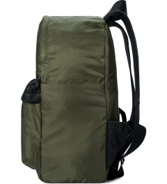 SILENT Damir Doma Black/Olive Bost Backpack  Model Picutre