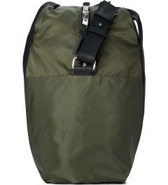 SILENT Damir Doma Black/Olive Buani Gym Bag  Model Picutre