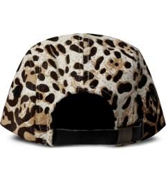Stampd Leopard Camper Cap Model Picutre
