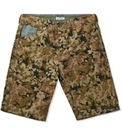 Staple Camo Forest Twill Short Picutre