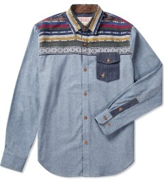 Staple Indigo Maya Chambray Shirt Picutre