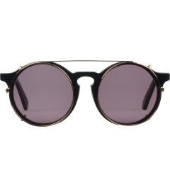 SUNDAY SOMEWHERE Gloss Black Matahari Sunglasses  Picutre