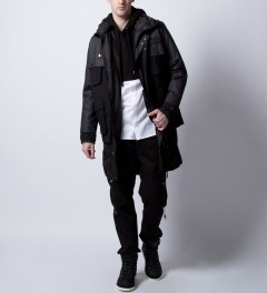Surface to Air Black Kelper Jacket  Model Picutre