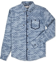 Volklore Blue Flag Shirt Picutre