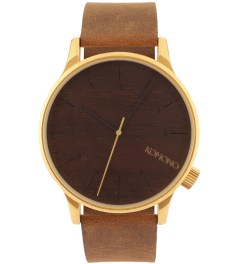 KOMONO Gold Wood Winston Watch  Picutre