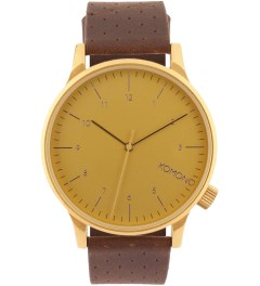 KOMONO Gold Winston Watch  Picutre
