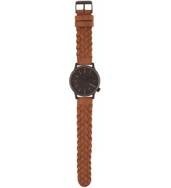 KOMONO Woven Chestnut Winston Watch Model Picutre