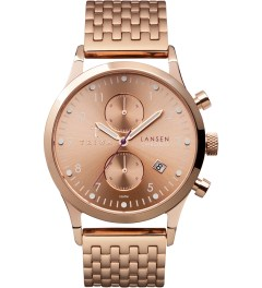 TRIWA Rose Brace Lansen Chrono Watch Picutre