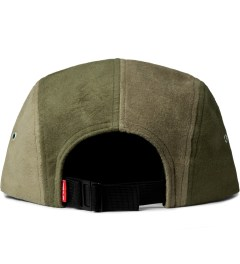 Acapulco Gold Olive Bill Moleskin Camp Cap Model Picutre