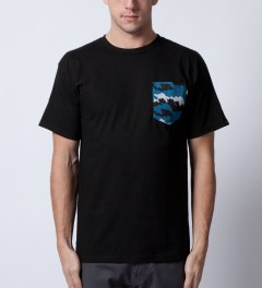 Benny Gold Black Fog Camo Pocket T-Shirt  Model Picutre