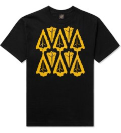 Benny Gold Black Ikat Arrow Head T-Shirt  Picutre