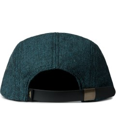 Benny Gold Green Space Lab Speckled Wool 5-Panel Cap  Model Picutre